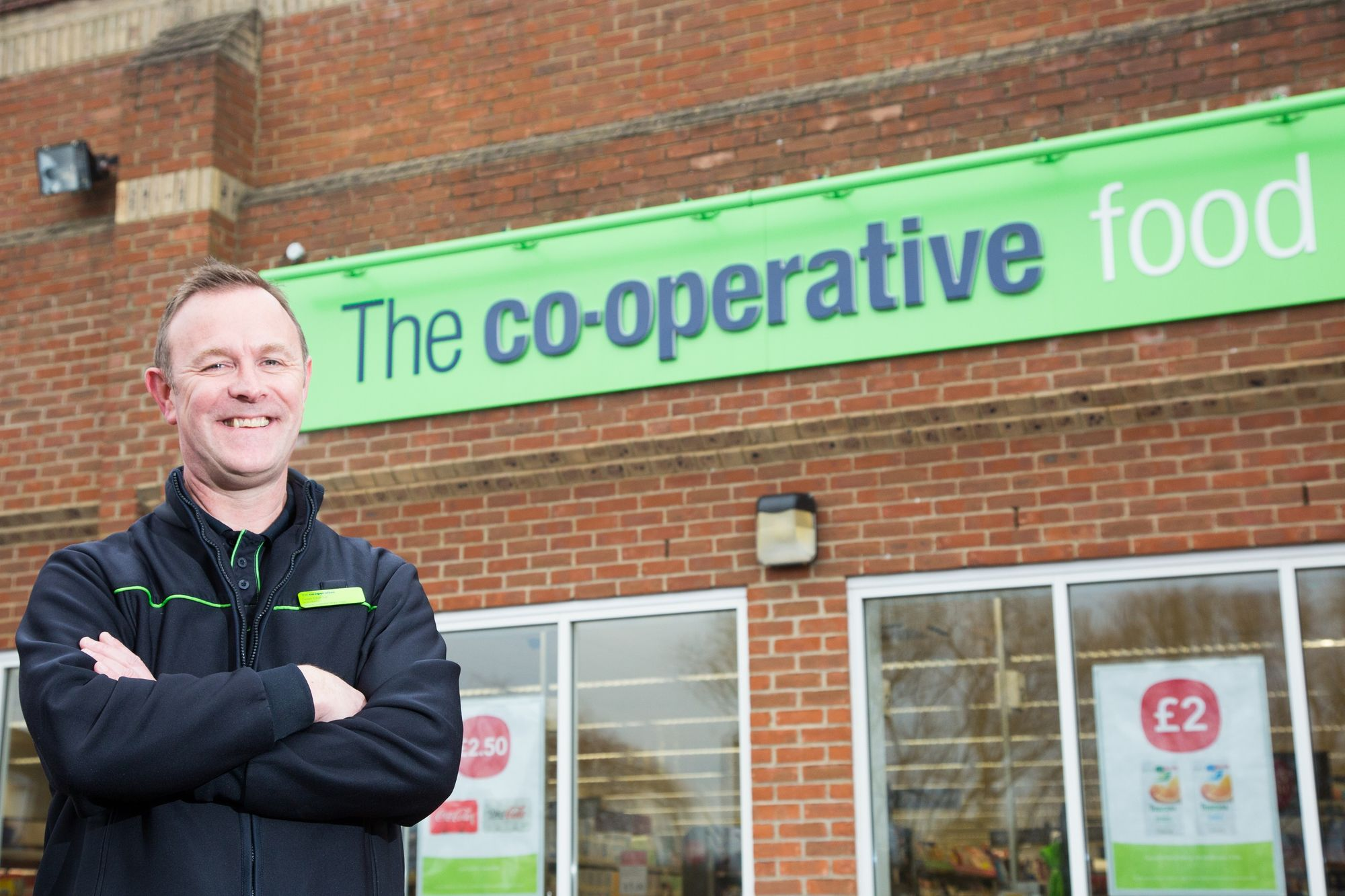 Market Harborough store manager and Board member celebrates hitting 30 years' service