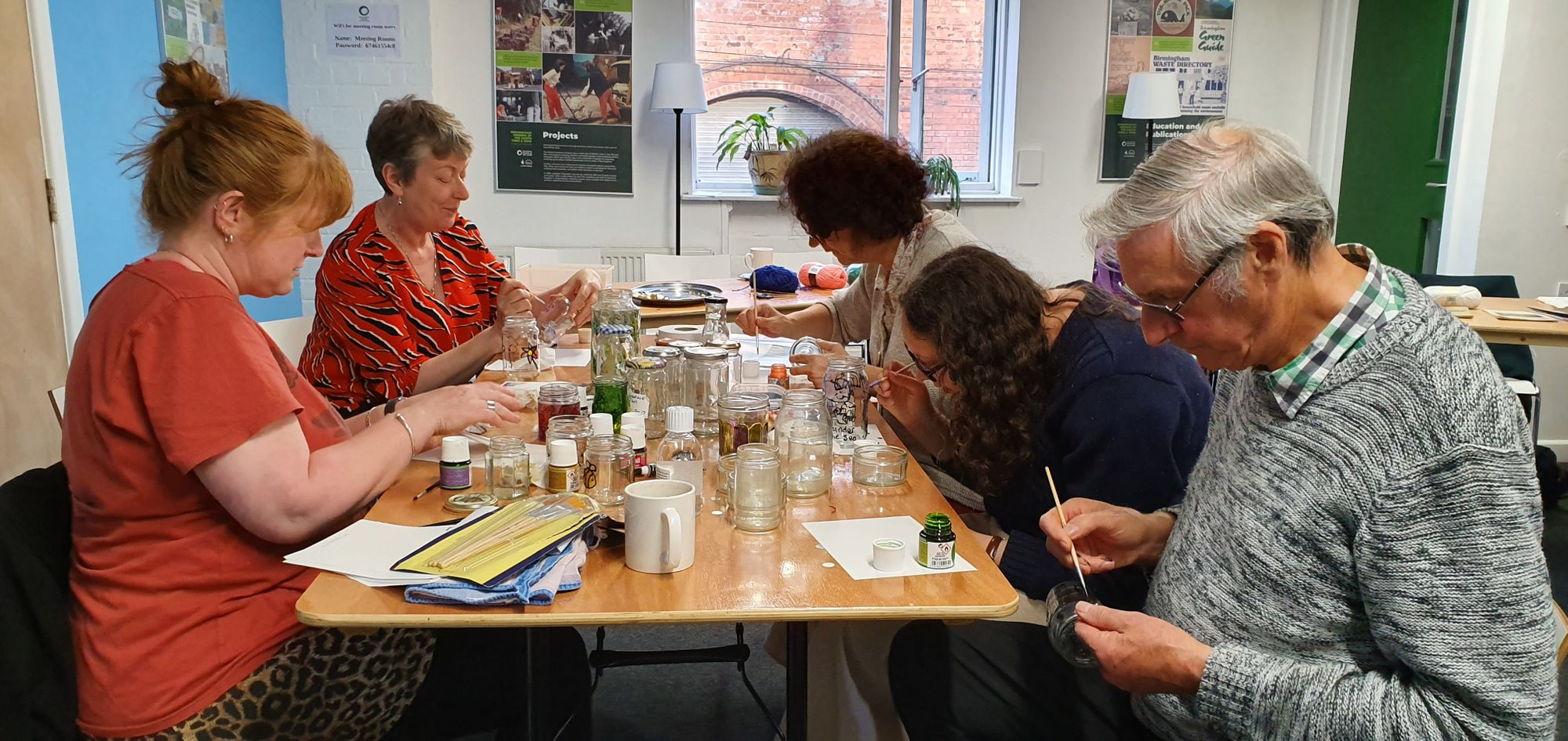 Co-op Members Getting Crafty in Birmingham