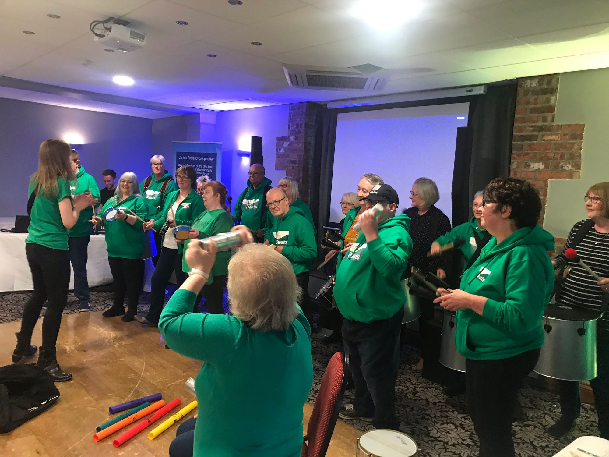 Valley Beats entertaining members in Yorkshire