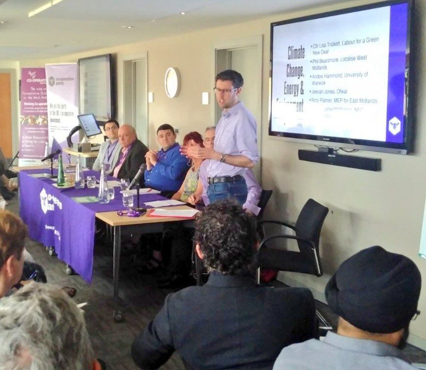 Board Directors play their part at Co-op Party Midlands Regional Conference
