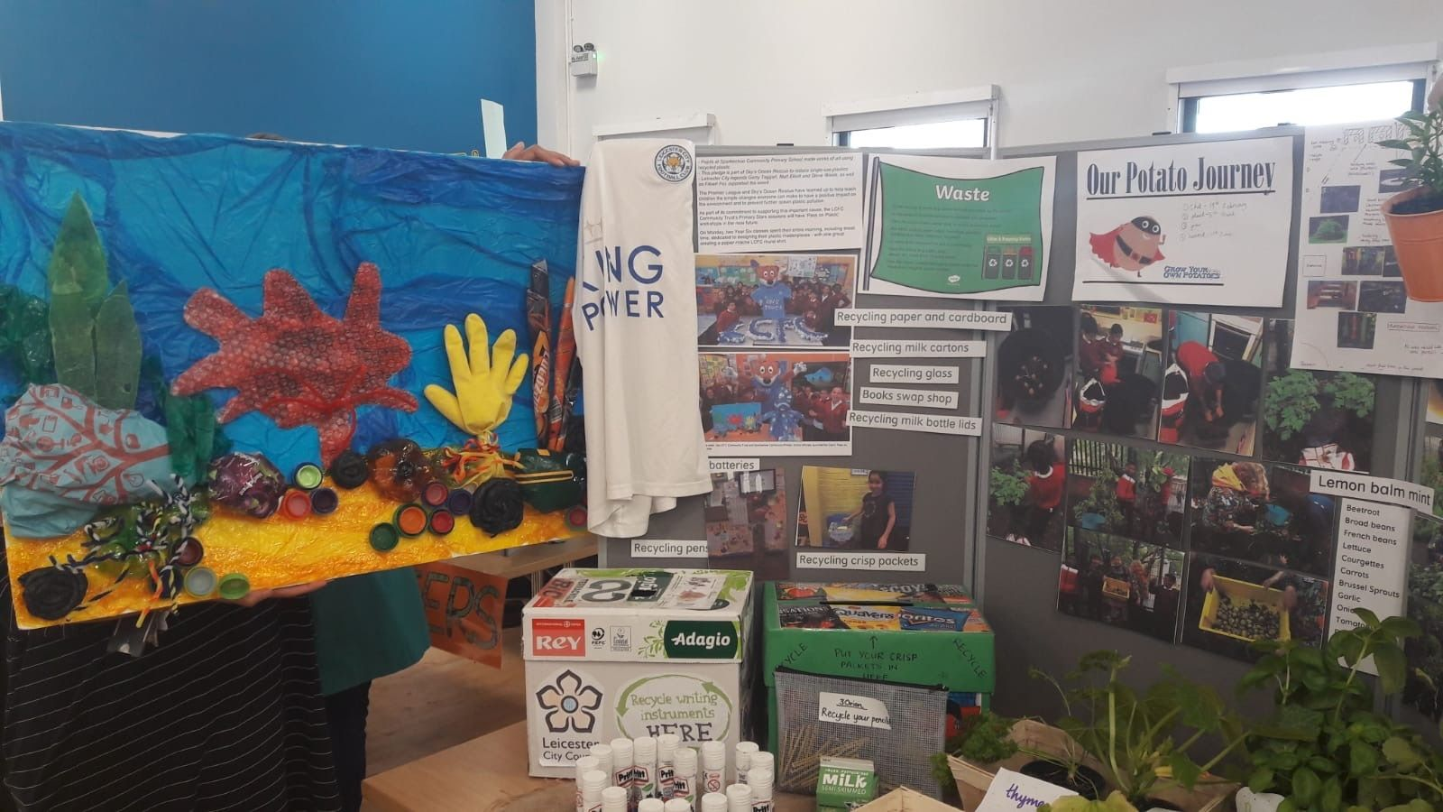 Southern MCC Support Eco-Schools & Food for Life Celebration event in Leicester
