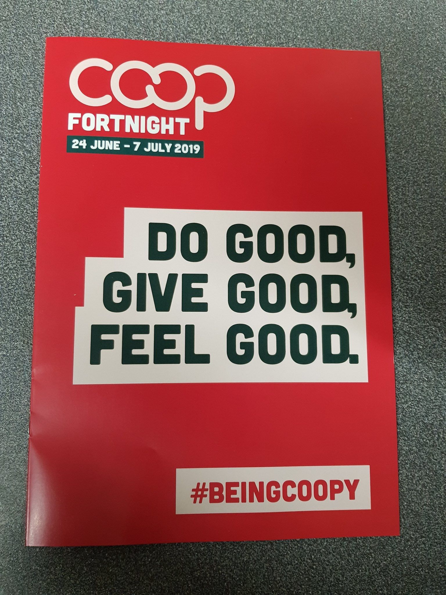 CELEBRATING CO-OPERATIVE FORTNIGHT