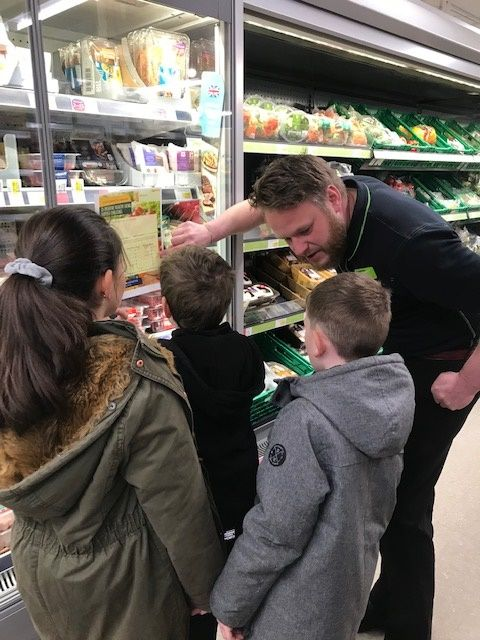 150 children take part in our Healthy Eating Shopping on a Challenge at our Cropston Drive Store in Coalville