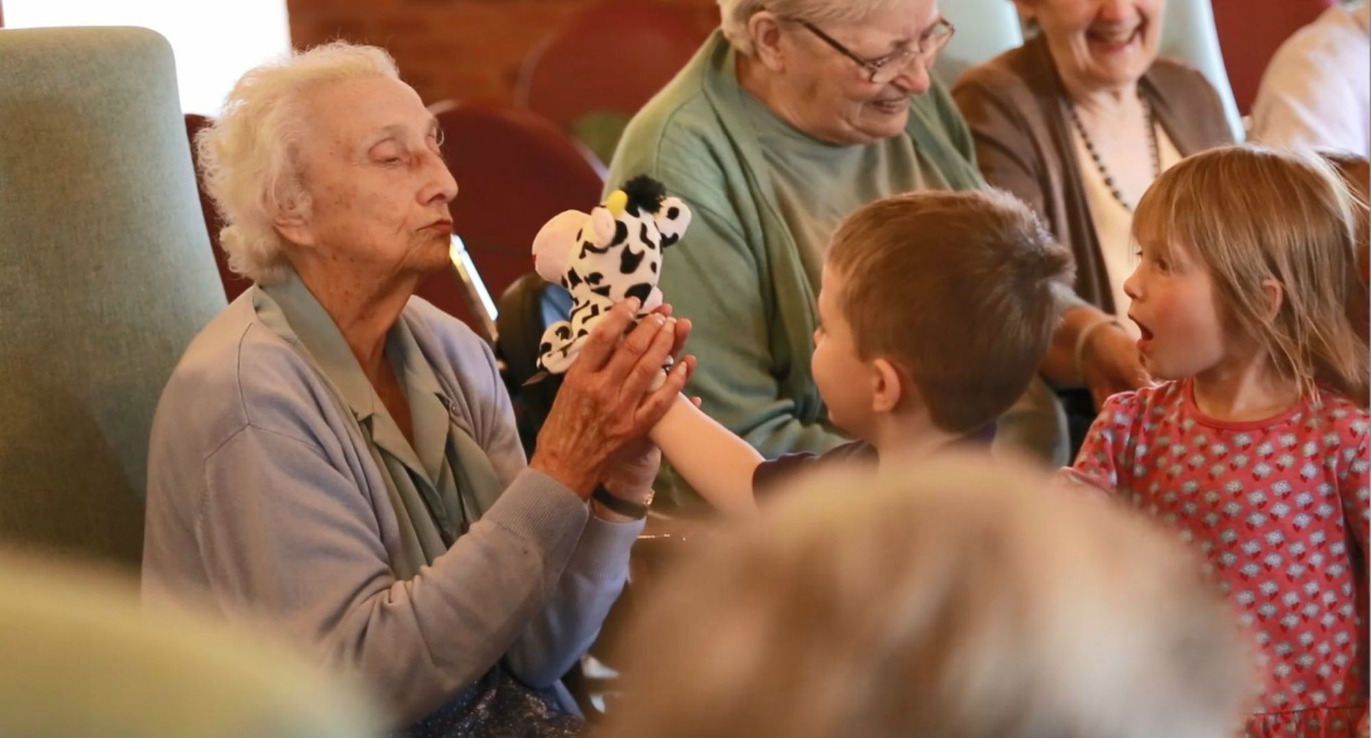 Joining the Generations project bringing benefits to young and old alike