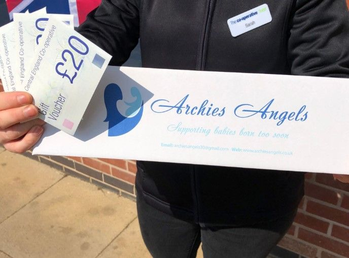 Archies Angels receives donation