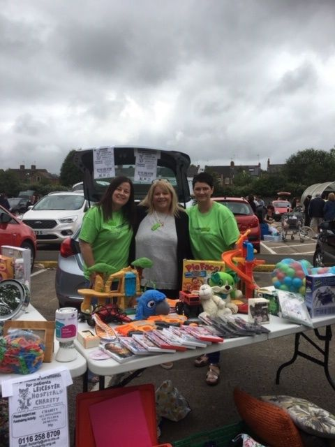 GLENFIELD STORE CAR BOOT IS A HIT WITH TRADERS AND CUSTOMERS!