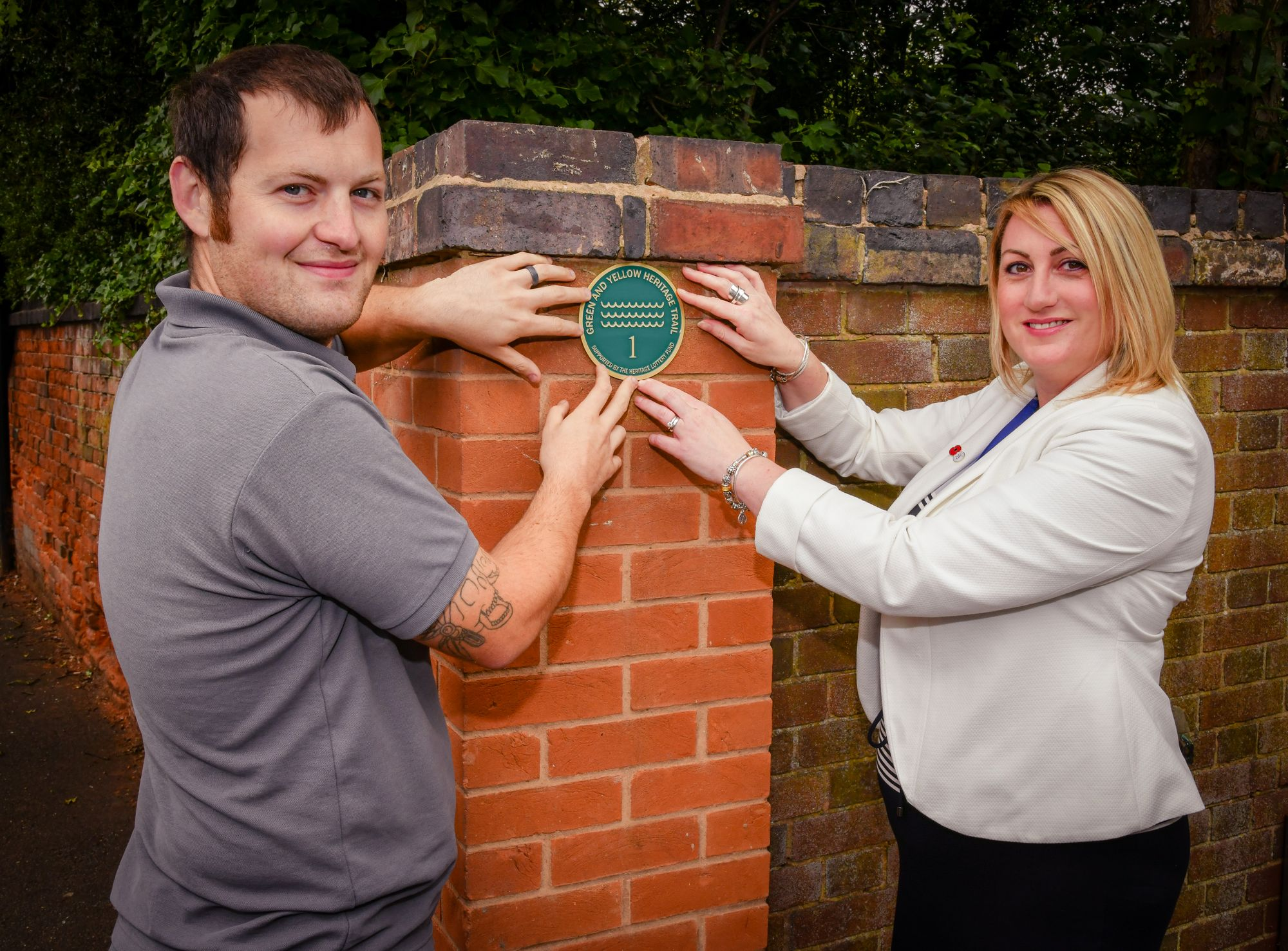 Central England Co-op masonry team help makes a mark on the history of Coleshill