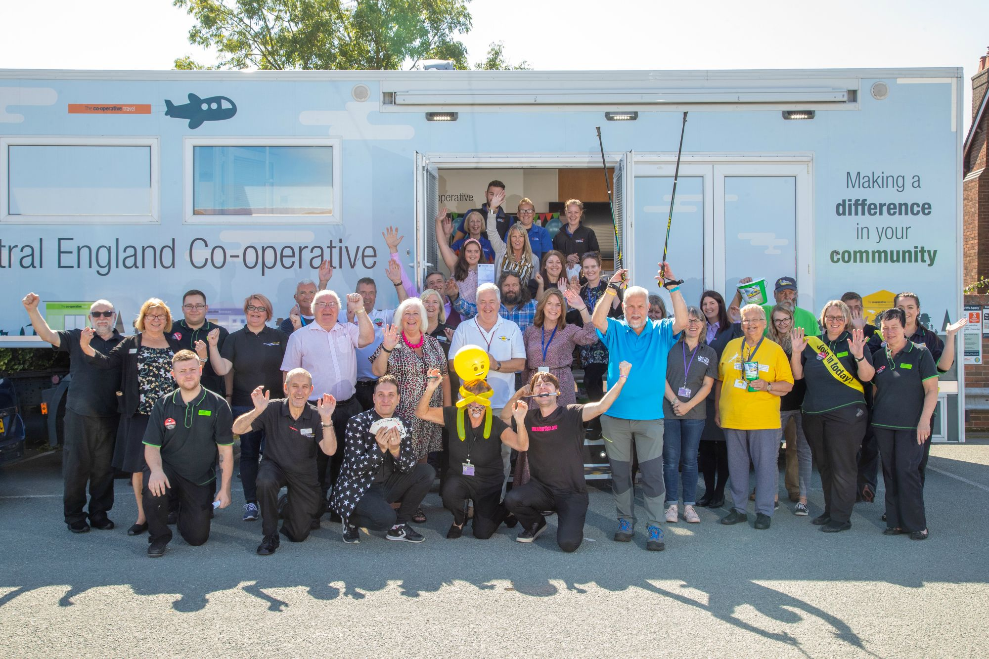 Magical charity fun day for families held at Ripley Central England Co-op