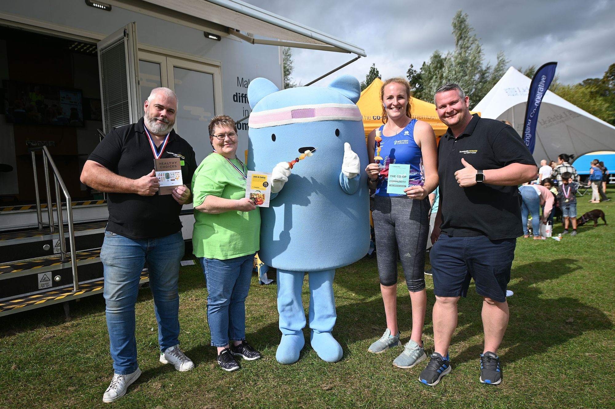 A weekend of Fun and Fruit at the Lichfield Community Games