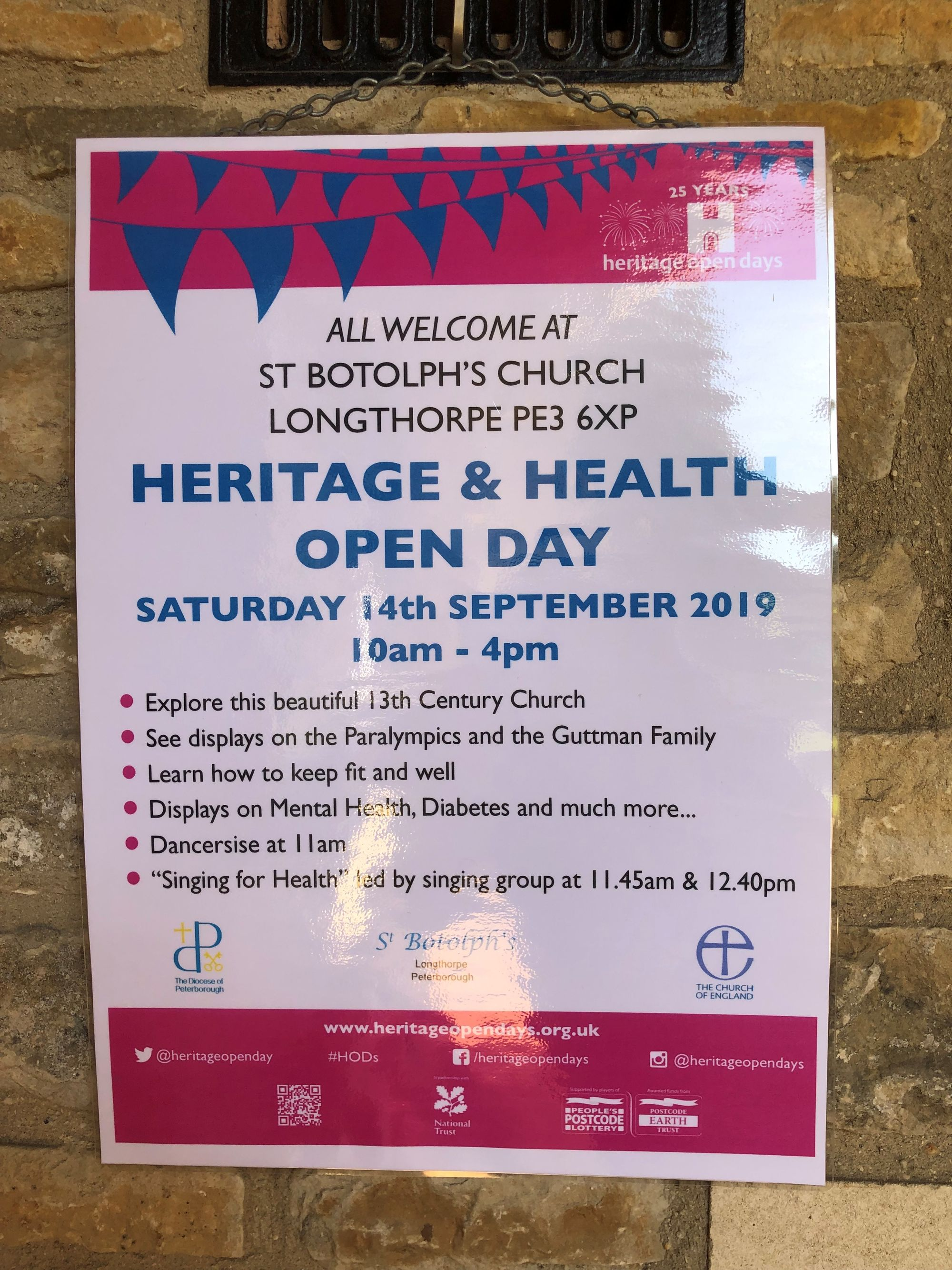 St Botolphs Church Heritage & Mini Health Day, including the Ride & Stride for Churches
