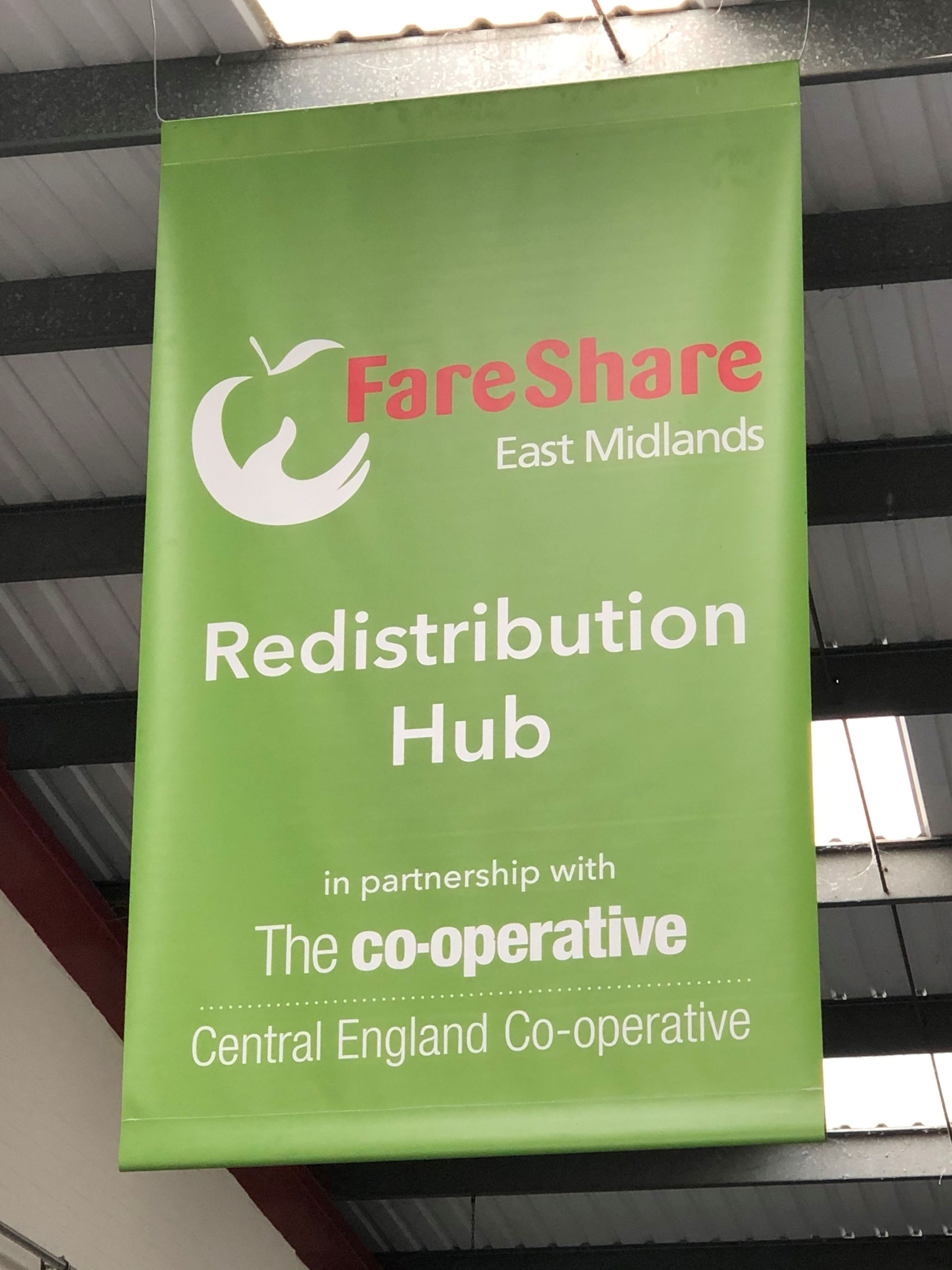 FareShare East Midlands Visit