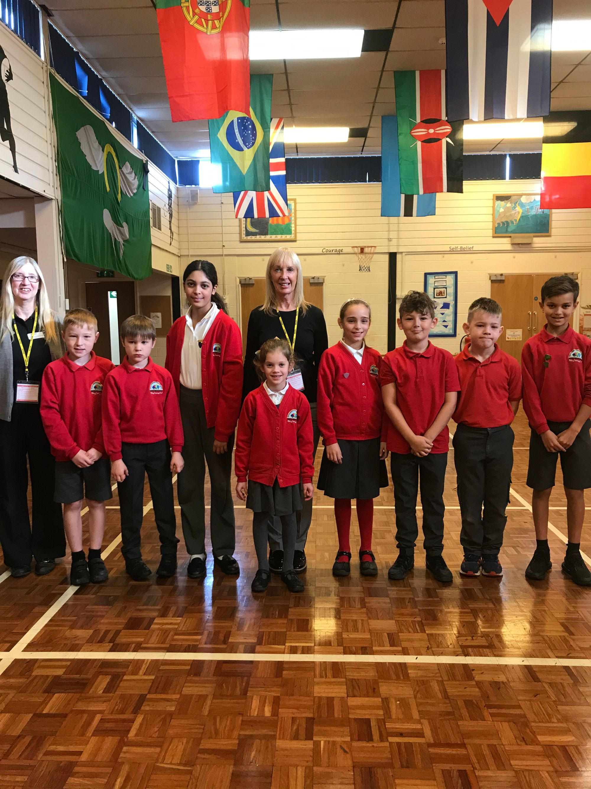 350 Children from Brooks Hill School in Oakham learn about Fairtrade