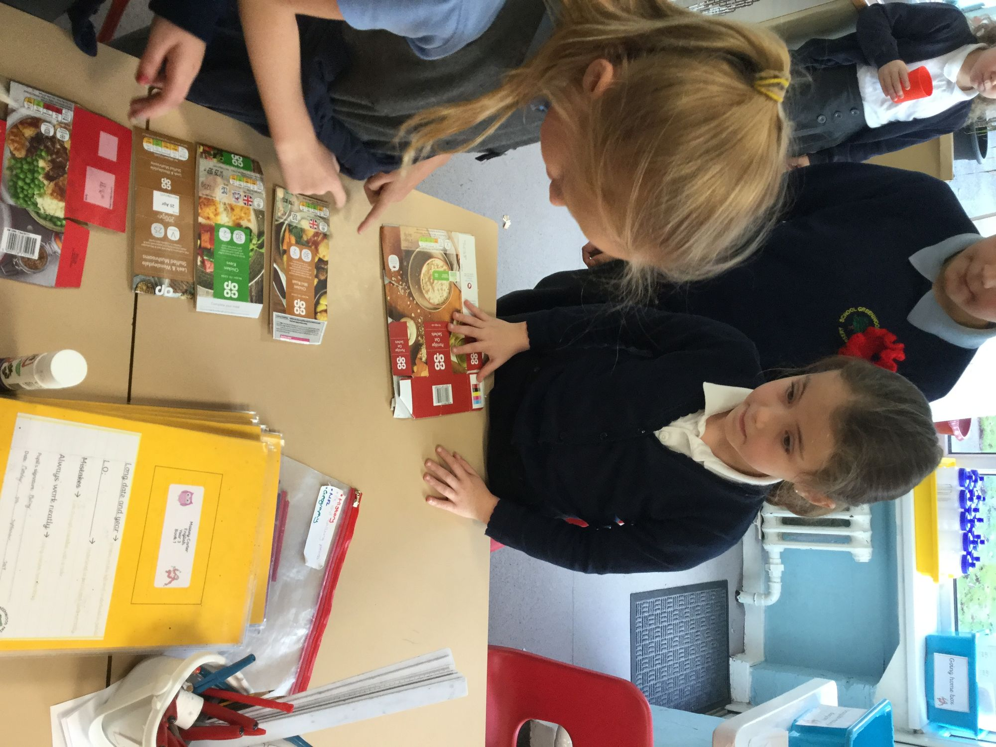 Learning about food choices in a fun way