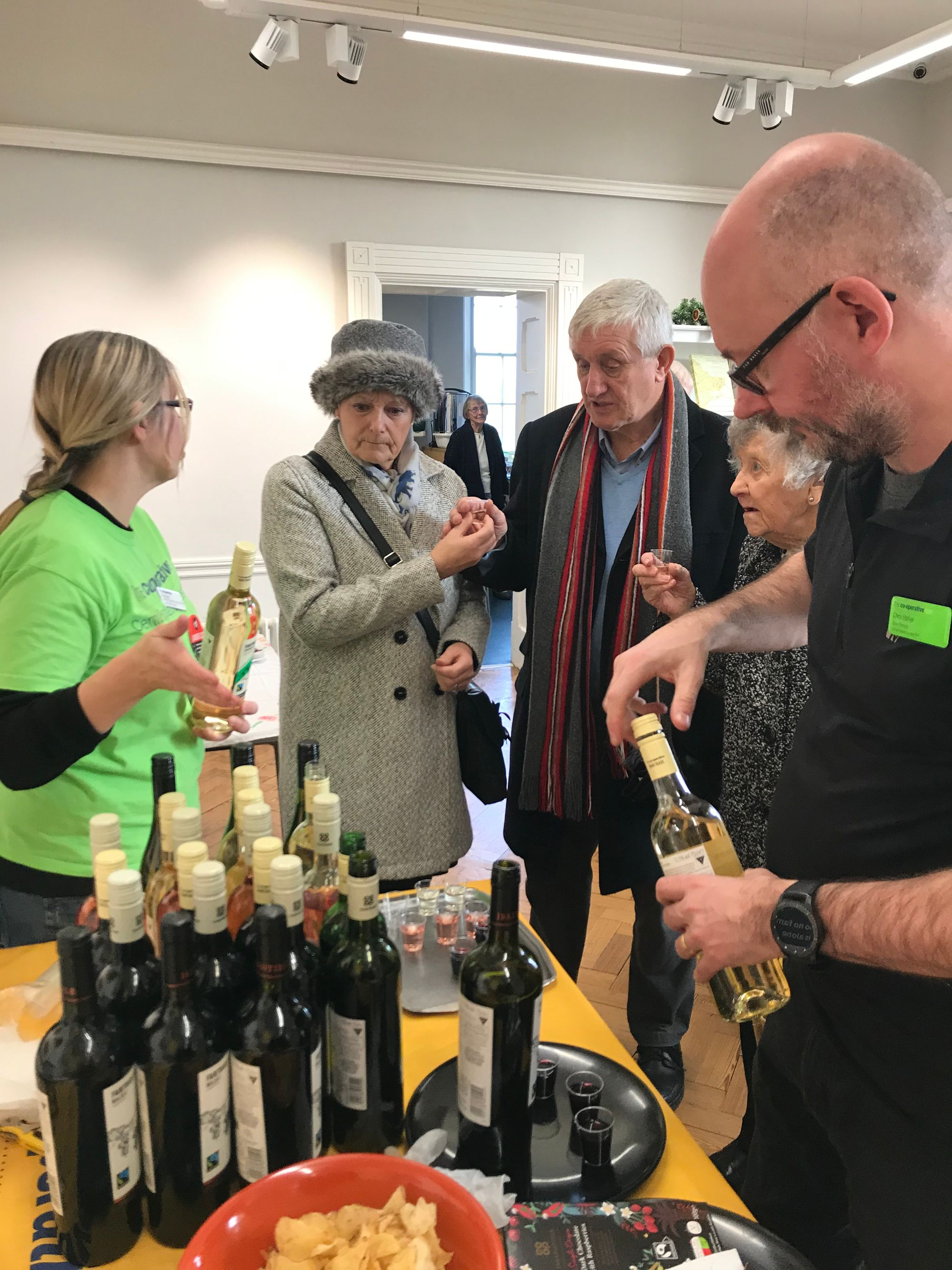 Over 700 visitors to Oakham Castle Fairtrade Market