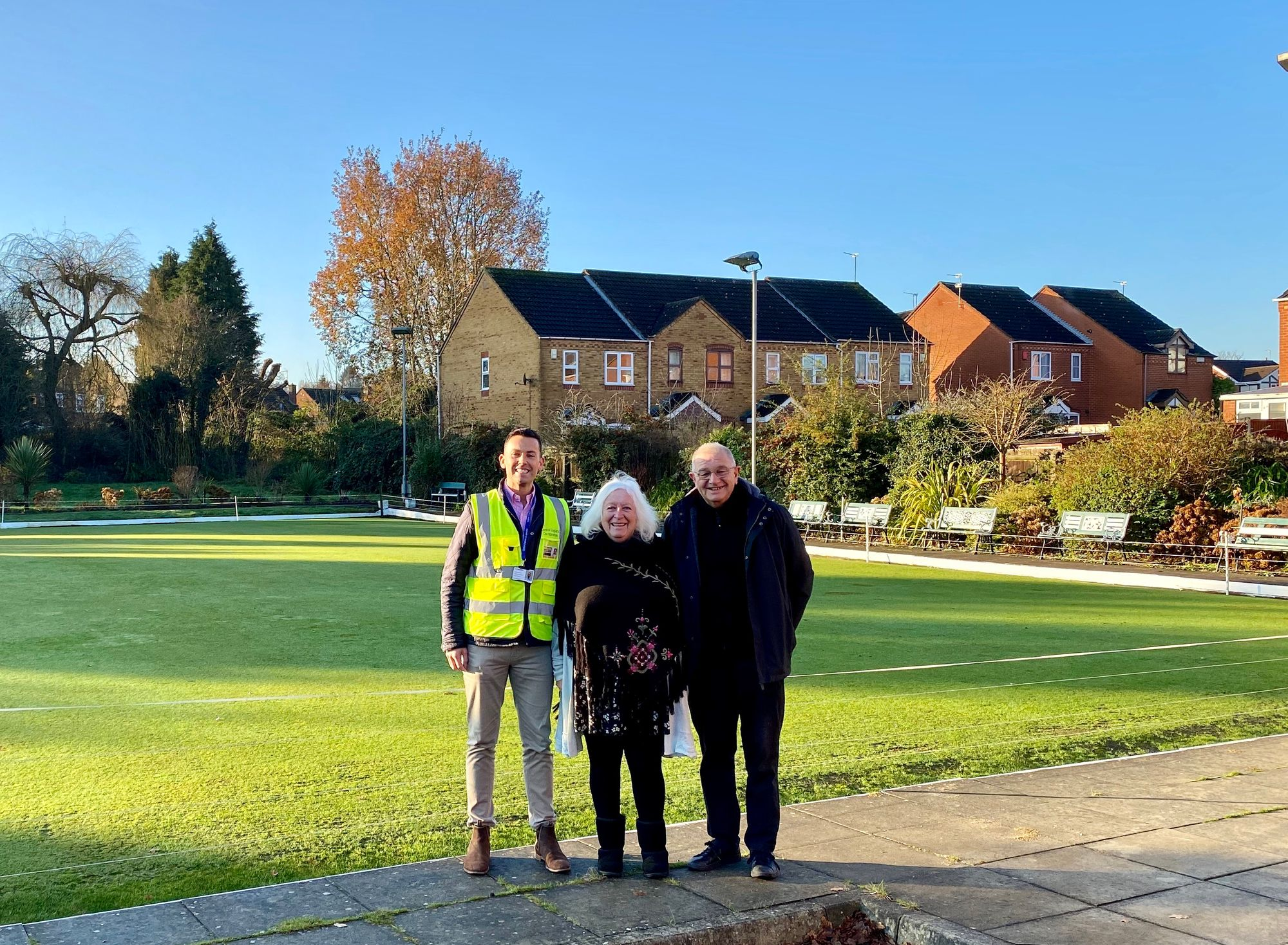 Property team hit target with Bowls Club donation