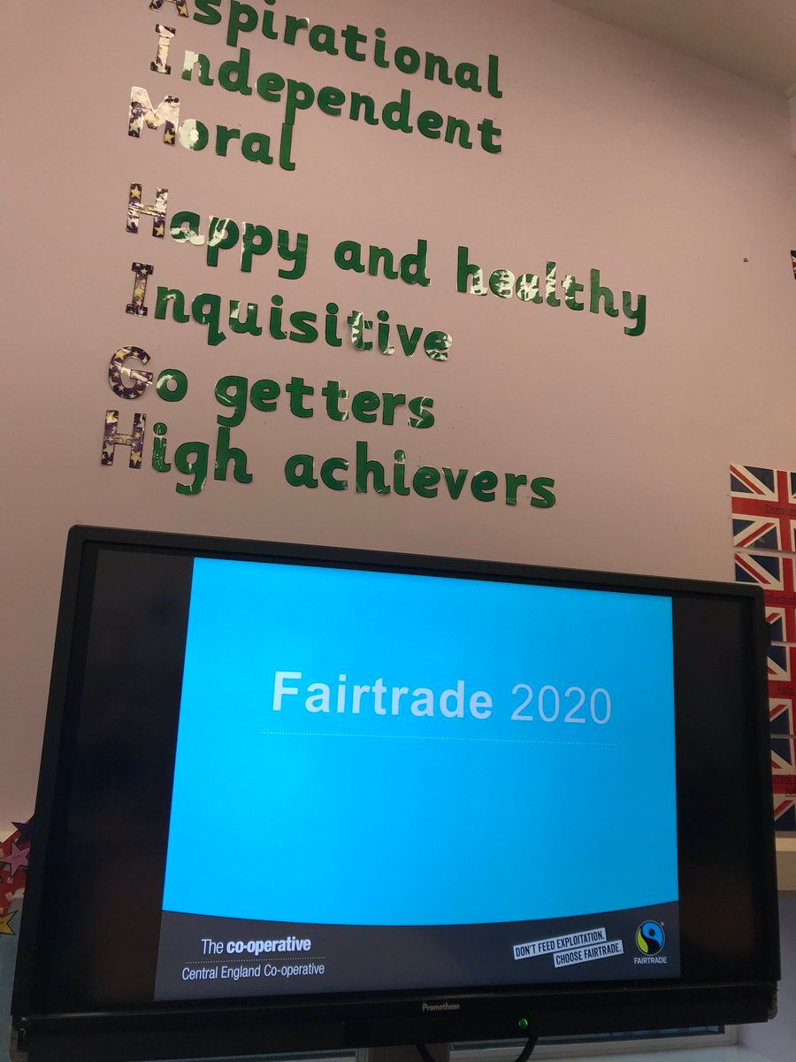 Fairtrade comes to a Stafford School