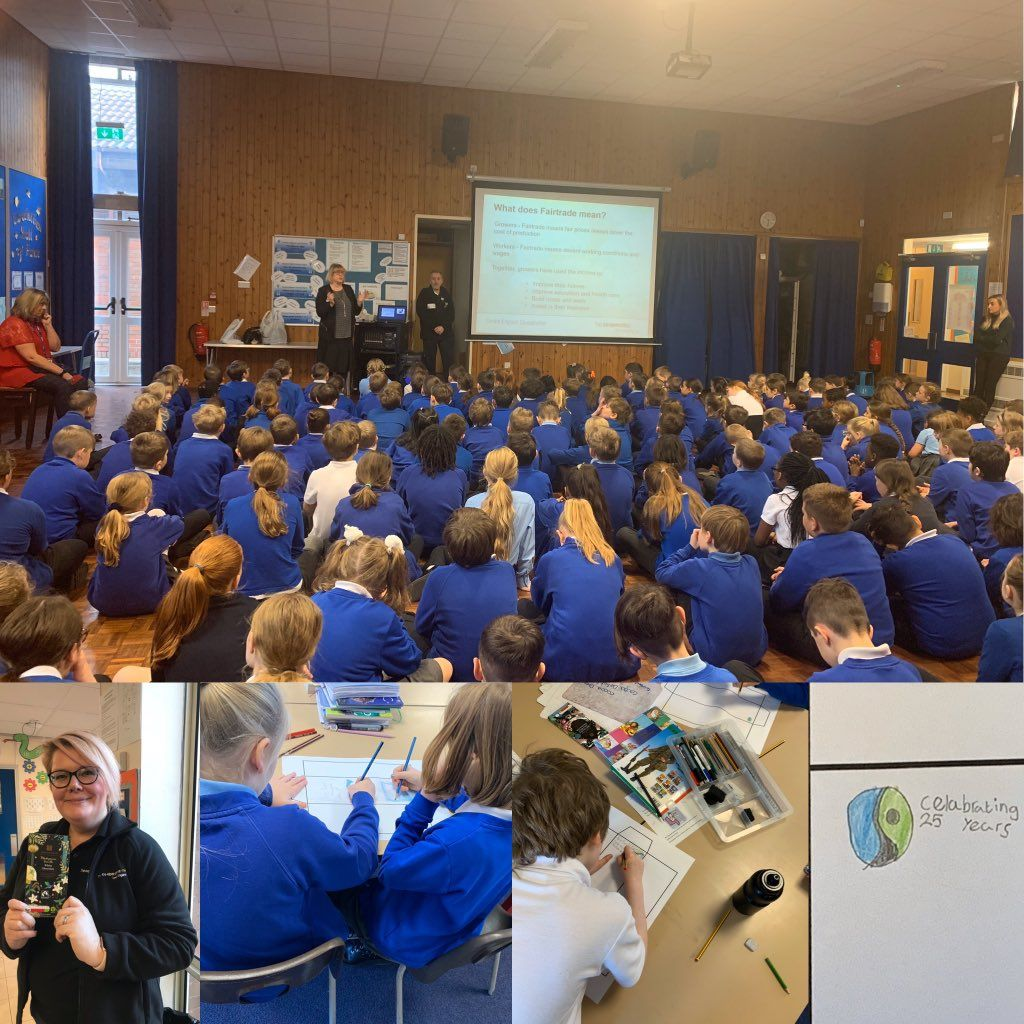 Fairtrade Assemblies and Workshop are popular with schools