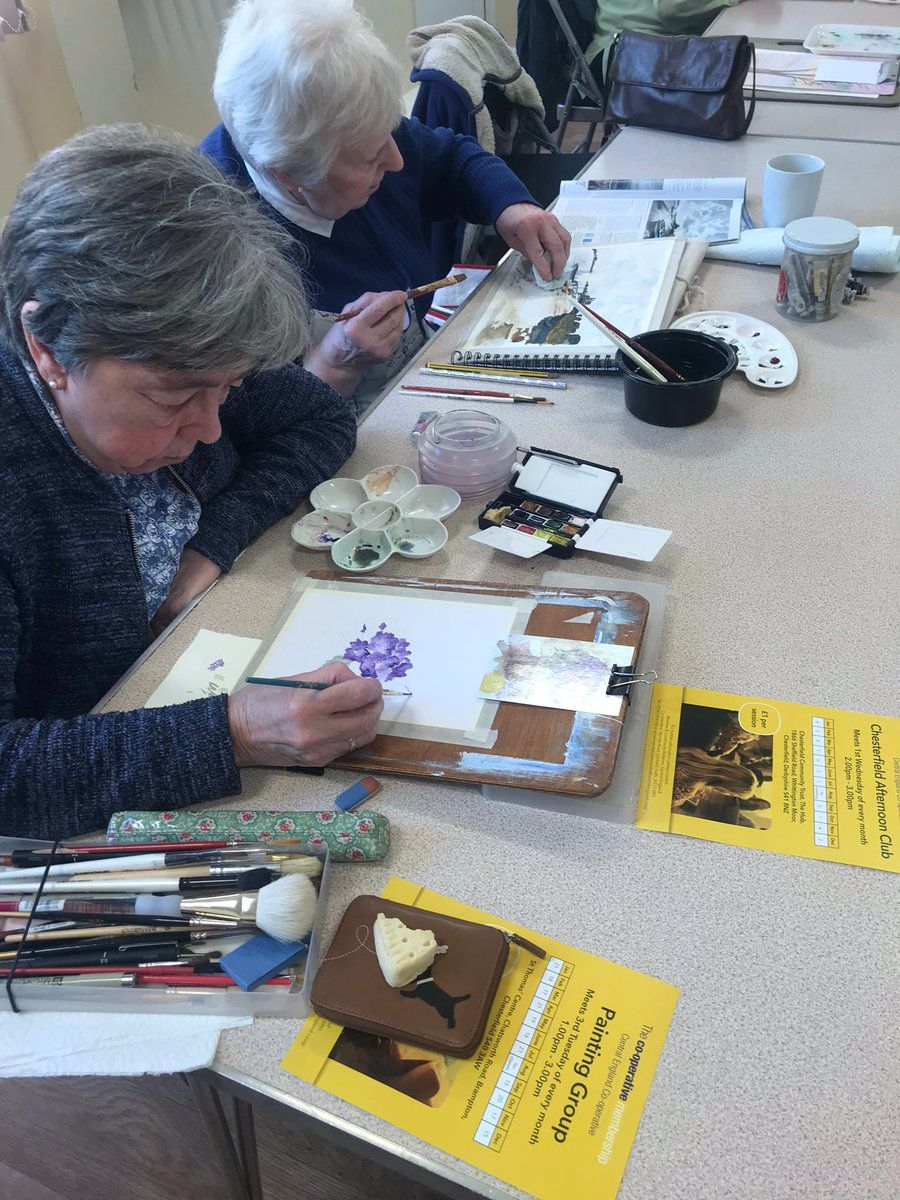 Chesterfield Painting Group off to a flying start