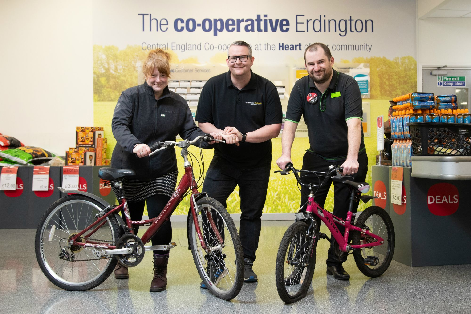 Refugees and asylum seekers in Birmingham given a bike boost thanks to Co-op charity link-up