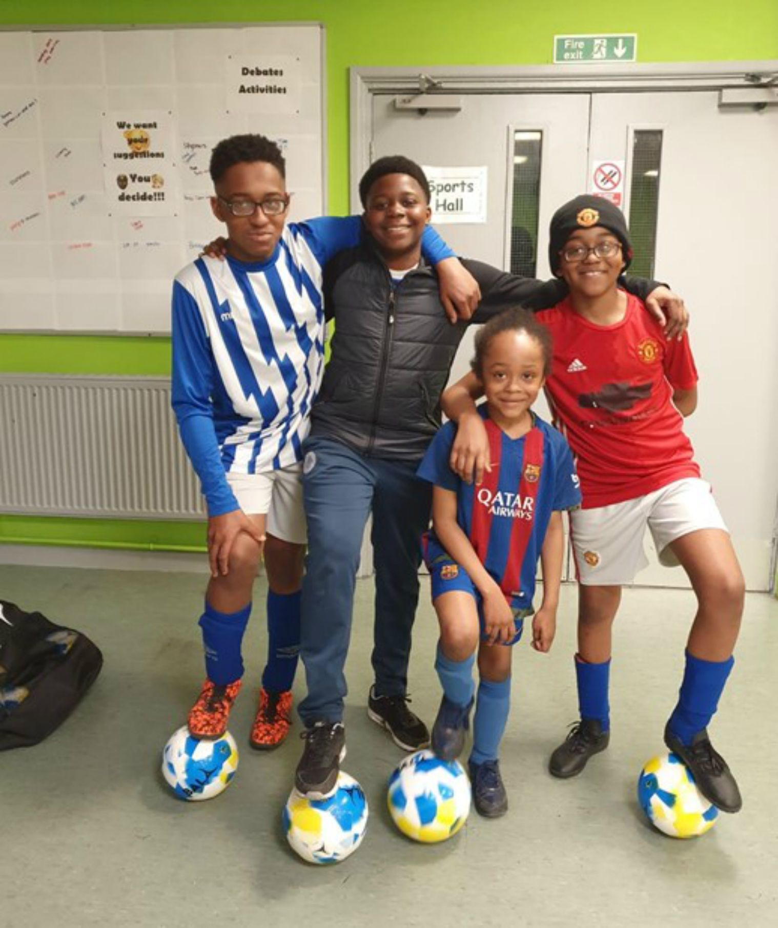 Western MCC donates special Fairtrade footballs to budding Birmingham soccer stars