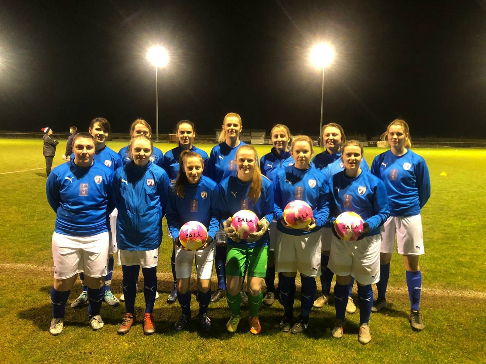 Northern MCC makes special Fairtrade Fortnight football donation to Chesterfield FC Women
