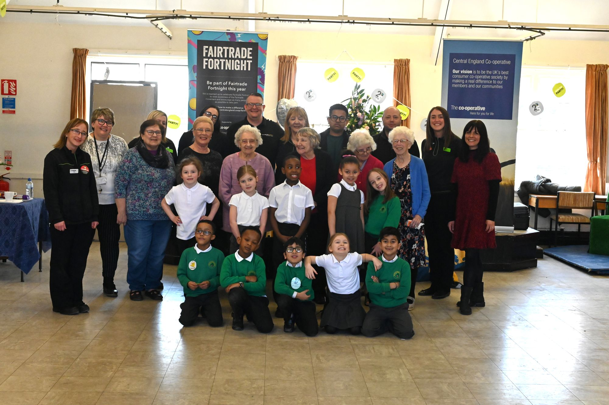 Two generations come together in Birmingham for special event to mark Fairtrade Fortnight