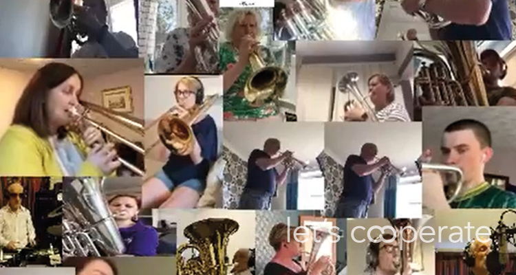 Co-op Band features on East Midlands Today News