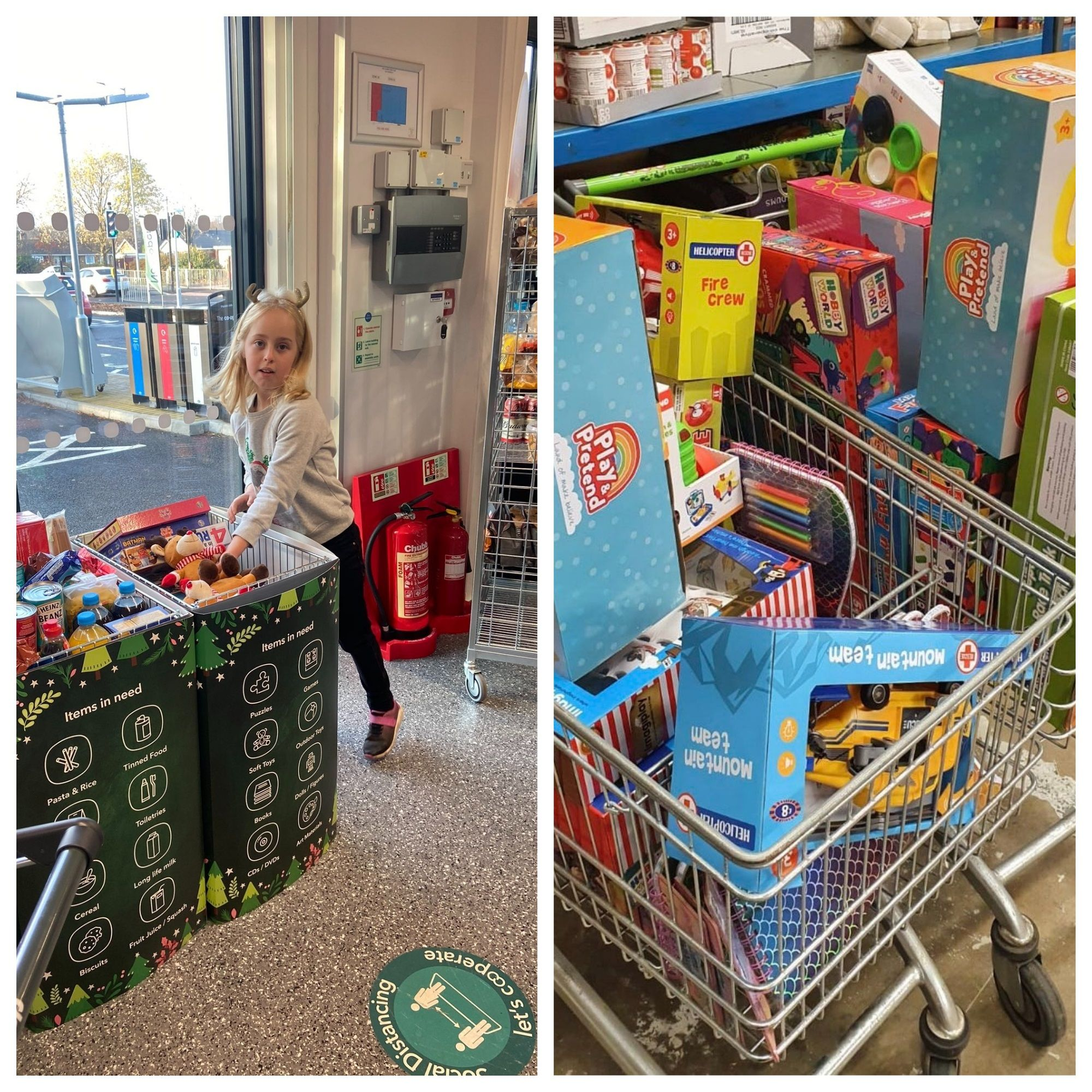 Communities giving backing to Christmas Toybox Appeal