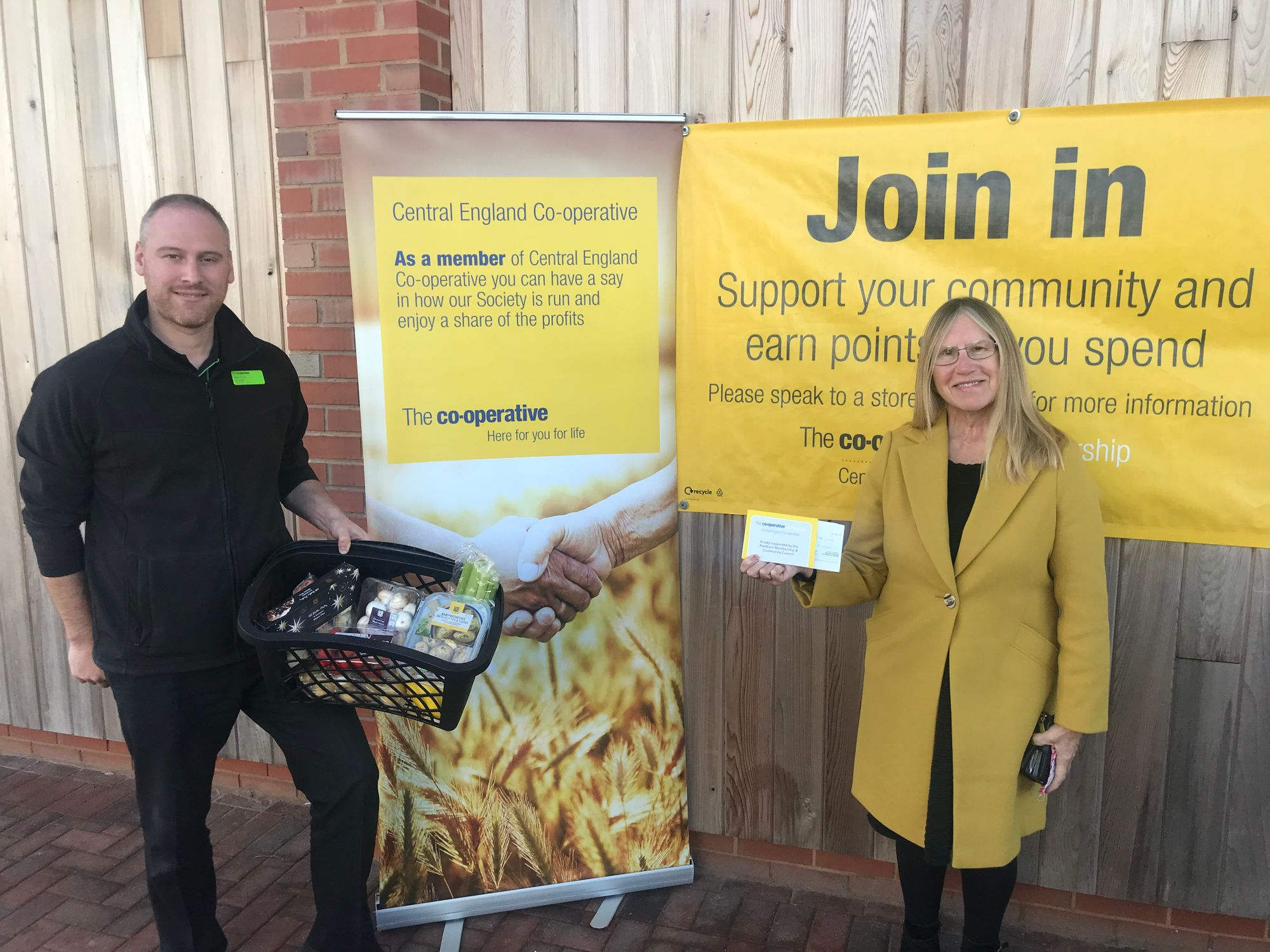 Supporting meals for local people