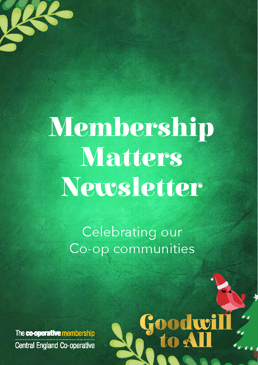 Membership and Community Relations Christmas Newsletter