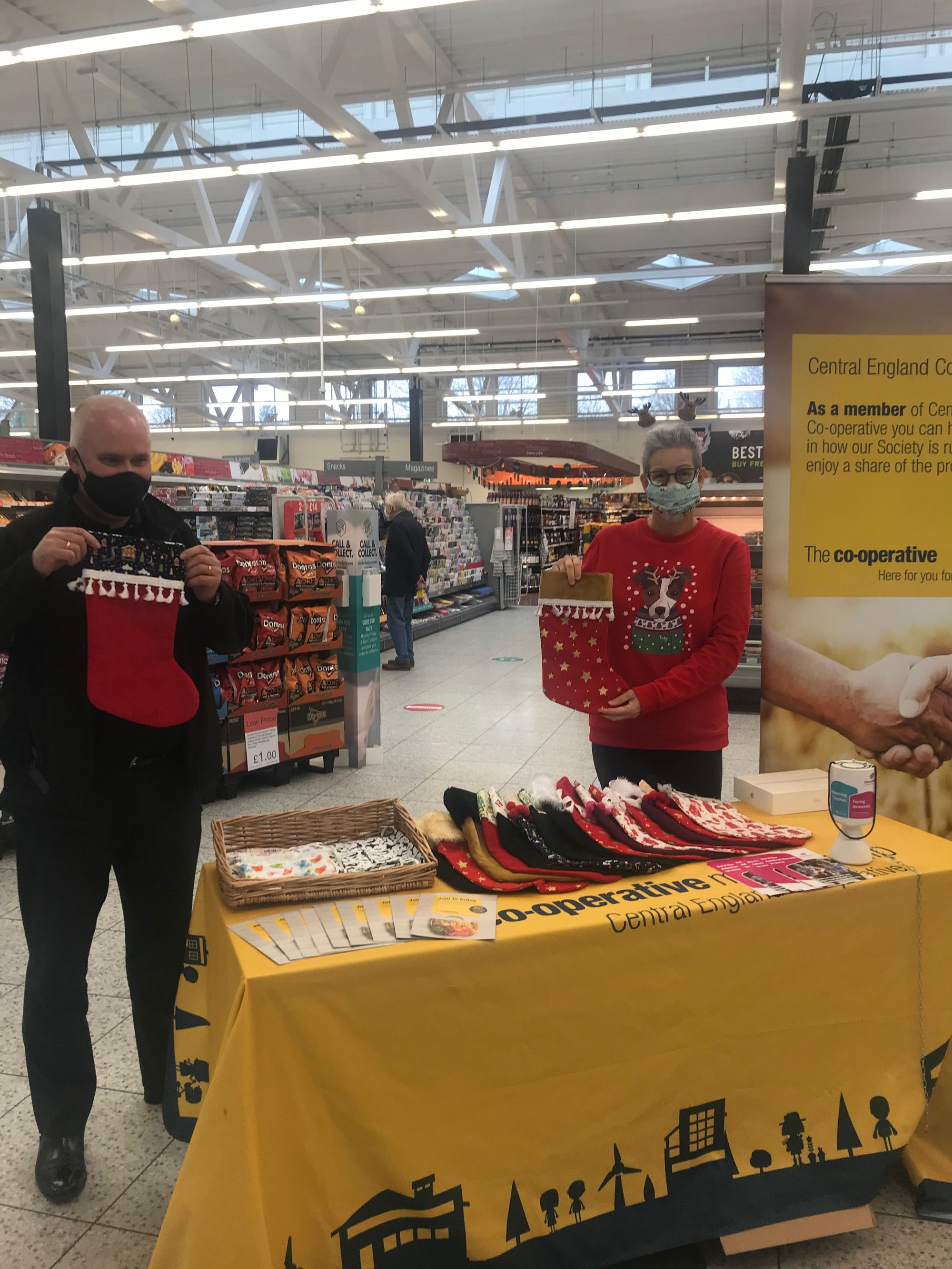 MCC Support Stores in raising funds for Dementia UK