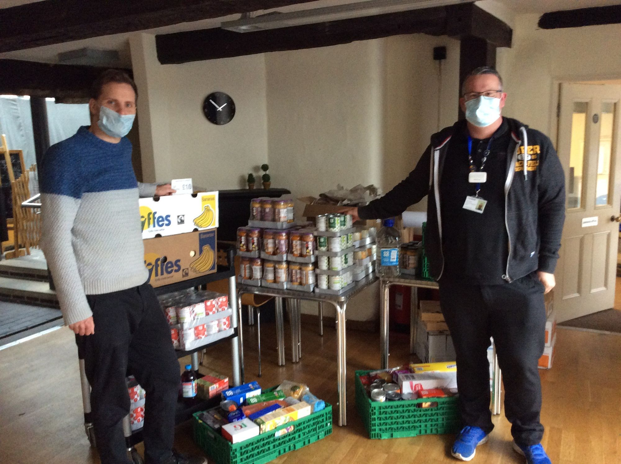 Membership and Community Council helps support local Foodbank