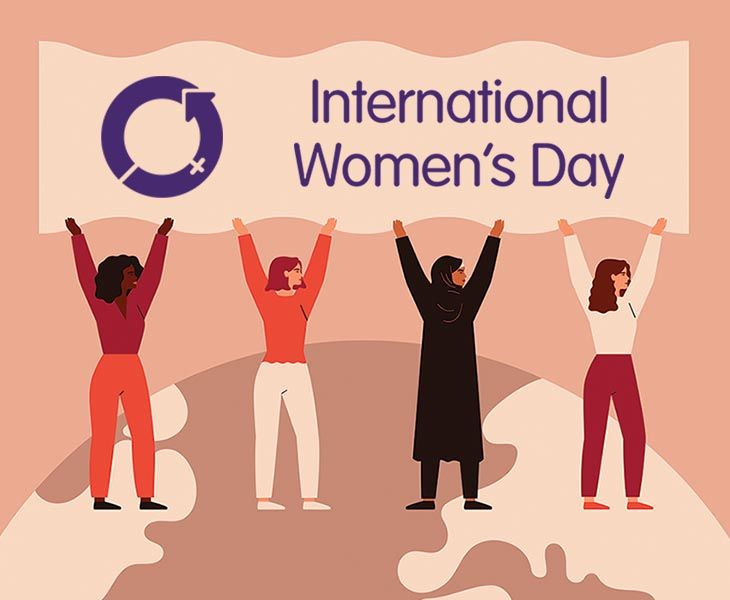 International Women's Day - Monday 8th March 2021