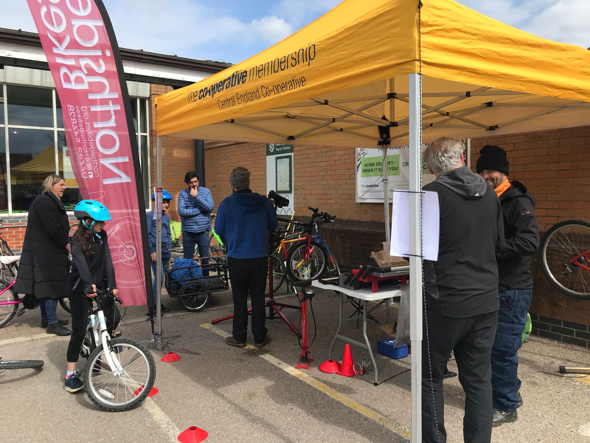Recycle Your Bicycle/Dr Bike Event at Whetstone Store